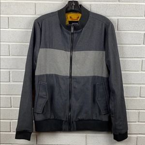 Native Youth zip two tone mens jacket